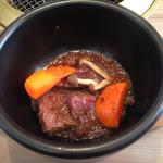 一心亭 - 料理写真:石鍋ステーキ
