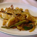 とらぢ - イカと野菜のピリ辛炒め