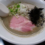 麺処 晴 - 濃厚そば(伊吹いりこ平子)780円