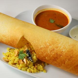 南インド料理もご用意