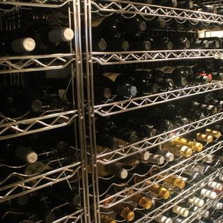 ワインの種類が豊富