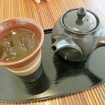 ピーストチャ - 黒豆煎茶の冷やし☆