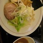 桃山 - 料理写真:東京極太つけ麺