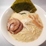 まる勝 - 和牛塩ラーメン750円