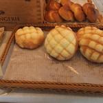 パンヤ オルタ - 陳列棚(メロンパン)