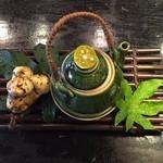 ひでぢ - 松茸と白身魚の土瓶蒸し