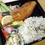 そば辰 - 鮭フライ弁当