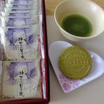 楽市楽座 - 料理写真:伊勢茶ゴーフレット