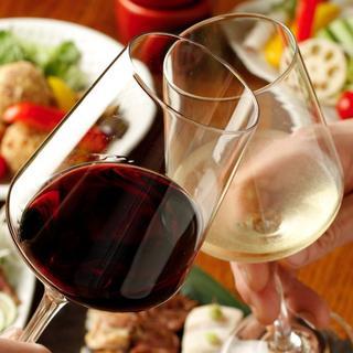お気に入りのワインも見つかるはず☆