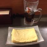 居酒屋9丁目 - チーズだし巻き卵