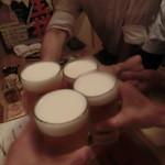 やきとり まさ吉 - 生ビール600円