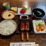 三河 - 江戸セット 菜めしご飯