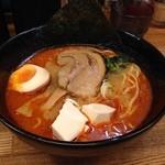 麺屋 黒琥 〜KUROKO〜 - 20150814 赤琥ラーメン
