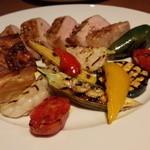 オステリア タナロ - 茨城 常陽牧場の豚ロース肉のグリル 2,300円
