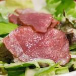 吉次 - 牛たんスモークサラダ