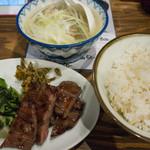 吉次 - 牛たん炭焼定食(ランチ)