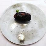 トロワフレーシュ - 炭焼きフォアグラ、茄子