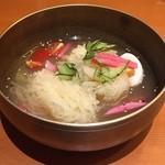 韓国料理 水刺齋 - 冷麺