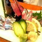 旬肴居酒屋 味人 - 新秋刀魚のお造り