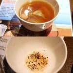 Beer&BBQ KIMURAYA - スープ2015-8