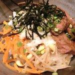 41278979 - 赤身ロース丼定食 1000円 の宮崎牛A5赤身ロース丼