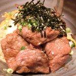 41278987 - 赤身ロース丼定食 1000円 の宮崎牛A5赤身ロース丼
