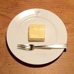 Erefantofakutorikohi - 自家製ミニチーズケーキ