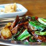 並木茶屋 - 豚肉とやさいのミソ炒め、¥740