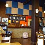 並木茶屋 - ちょいとモダンな店内