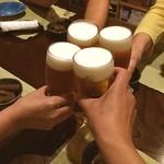 酒・肴 おまた - ちかチョさんのbirthdayオフ会❤ 初参加パイ٩((≧∇≦*))۶ おめでとーっ✨