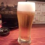 生ビール(2015.08.26)