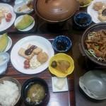 望岳荘 - 夕食