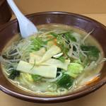 味の千龍 - 野菜ラーメン(塩)大盛