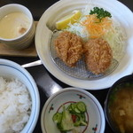 満点とんかつ四季彩 - <2015/08/27>ひれかつ定食(ライト)