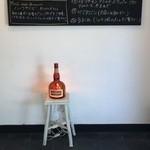 パニーノ専門店 ポルトパニーノ - ボトルの形のランプです
