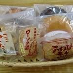 甲田菓子店 - お店のレジで撮ったもの