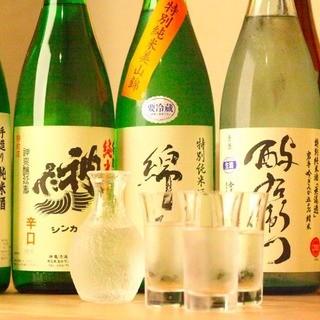 ☆毎週替わる日本酒がウリ☆