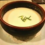 41288397 - じゃがいもの冷製スープ