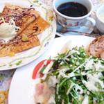 クレープリー・アルション - setl-saladサラダランチ