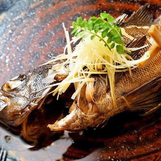 鮮魚の品質、料理のボリュームに自信あり!