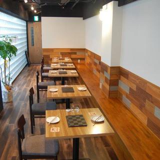 ◆カフェのようなゆったりと暖かみある店内の雰囲気◆