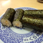 無添くら寿司 - たまごサラダ巻き <税込>108円(2015.08.28)