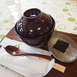 カフェ コンセルボ - ぜんざい(白玉だんご)