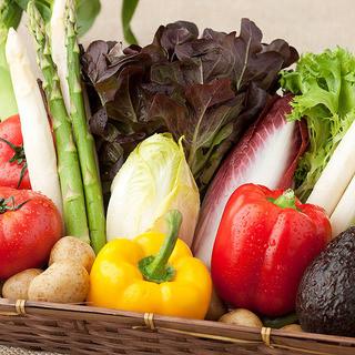 こだわりの減農薬野菜