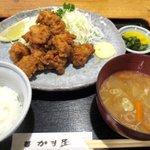 かま屋 - から揚げ定食!(2015,08/21)