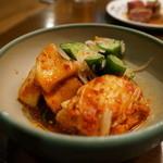 三林精肉店 - キムチの盛合せ