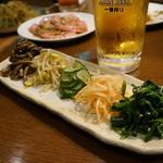 三林精肉店 - ナムル