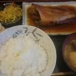 英香 - かさごの煮付定食850円