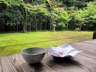 高桐院 - (2015.8月)抹茶と庭園