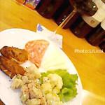 ランテルナロッサ - お一人様限定メニューワイン1杯+おつまみセット 美味しい&お得です!!